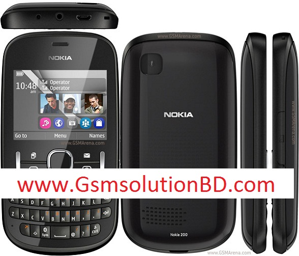 Nokia Asha 200 rm761 all version flash file