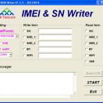 MTK Android Based Phone IMEI Write Tool