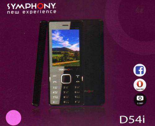 Symphony D54i Flash File