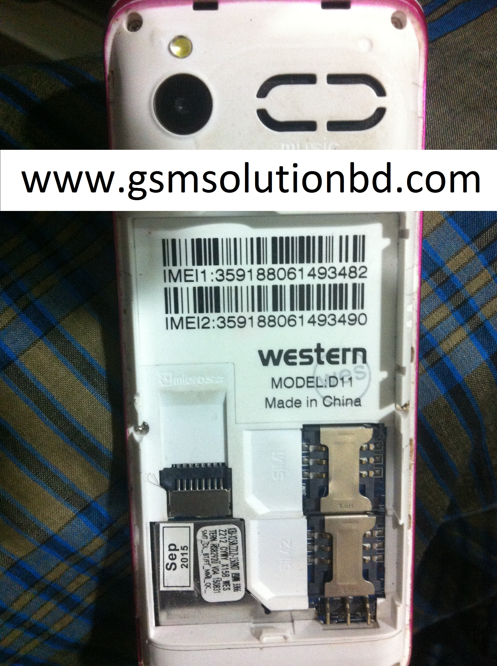 Western D11 SPD6531 FLash File Free Download