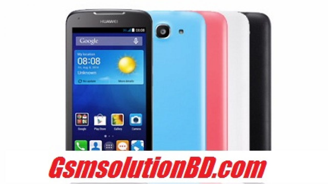 Huawei Y520-U22 Mt6572 Official firmware Download