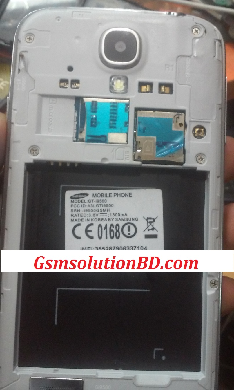 Samsung I9500 MT6572 4.2.9 firmware Tetsed Download