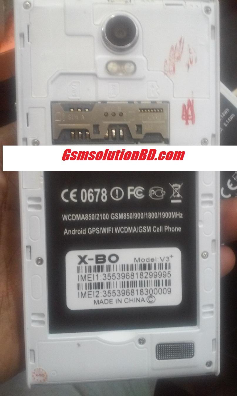 Sony X-Bo V3+ Mt6580 5.1 firmware 100% tested