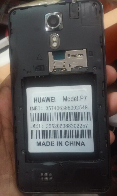 Huawei P7 Mt6571 4 4 2 firmware 100% tested | GSMSolutionBD