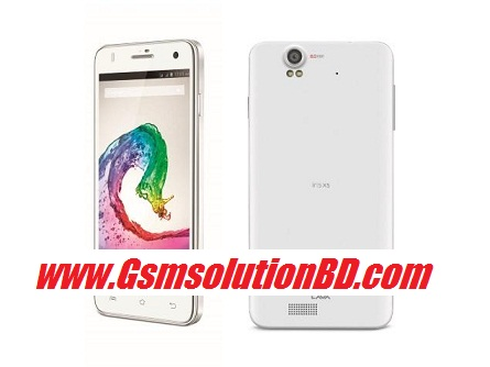 Lava Iris X5 MT6582 5.0 Rom firmware (flash file)