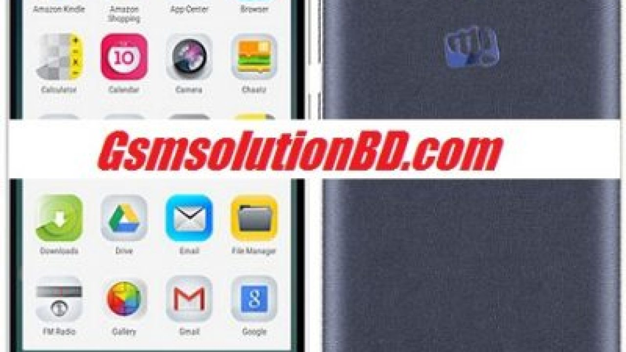 Micromax Q417 5 1 Rom firmware ( flash file ) | GSMSolutionBD