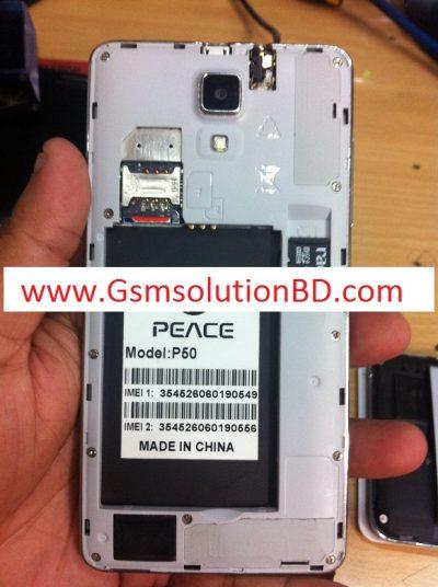 Peace P50 Mt6572 4.4.2 firmware ( flash file ) 100% tested