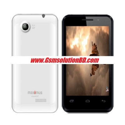 Maximus Max402 Mt6572 4.2.2 firmware ( flash file )