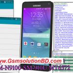 Samsung Note 4 SM-N9100 SM-910U MT6572 Firmware Stock Rom