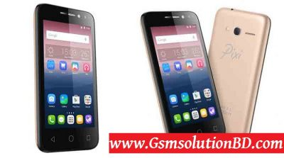 Alcatel Pixi4 (4) MT6580 firmware flash file 100% Tesed | GSMSolutionBD