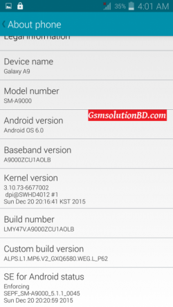 Samsung A9 SM-A9000 MT6580 6.0 firmware flash file 100% Tested