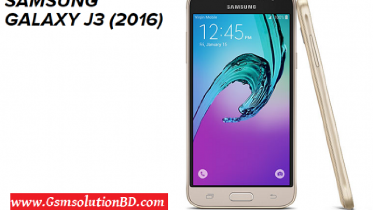 Samsung J3 (2016) SM-J320H Firmware flash file Download | GSMSolutionBD
