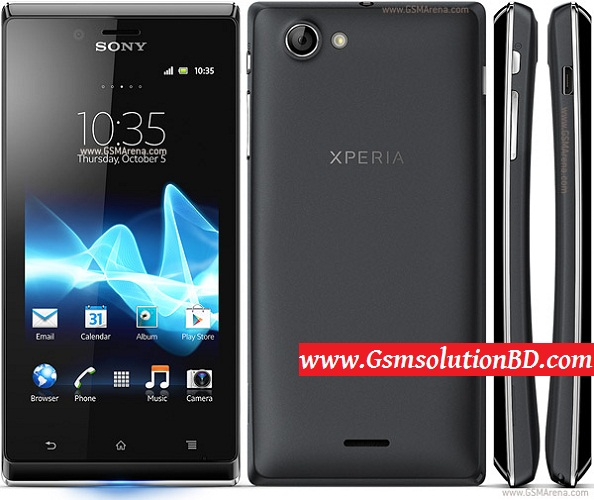 Sony Xperia Update J ST26i 4.0.4 firmware flash file