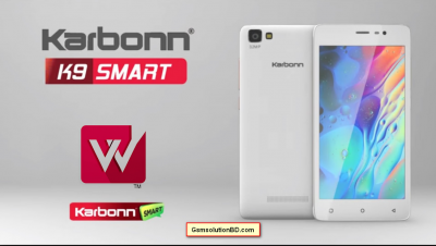 Karbonn K9 smart Firmware Flash File Download
