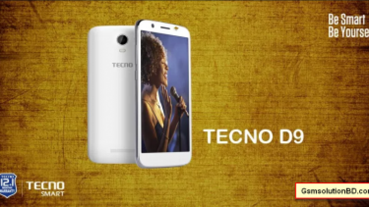 Tecno D9 Stock Rom Firmware Flash File Download | GSMSolutionBD