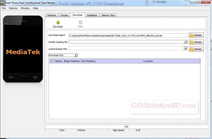 Smartphone (SP) Flash Tools Download