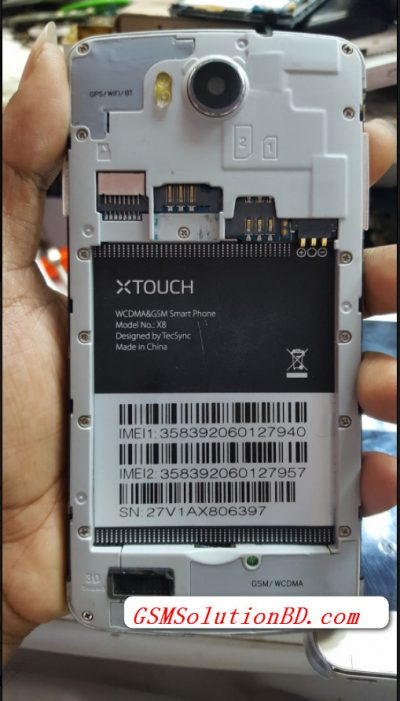 Xtouch X8 flash file