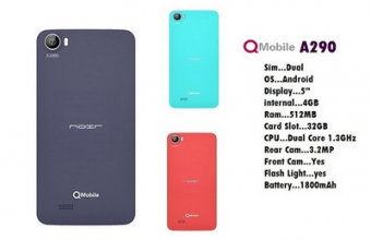 Qmobile A290 MT6572 Firmware Flash File 100% Tested Download