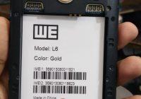 We L6 Flash File