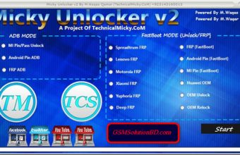 Micky Unlocker Tool V2 100% Tested Free