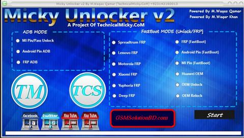 Micky Unlocker Tools